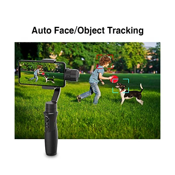 3-Axis Gimbal Stabilizer for Smartphone - Hohem iPhone Gimbal Stabilizer with Face Tracking Motion Time-Lapse APP… 4