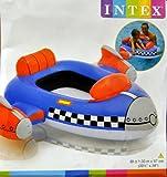 Kinder Boot Kinderboot Schlauchboot Pool-Cruiser Feuerwehr Rakete oder Wal Kinder-Schlauchboot dieses Boot sorgt für noch mehr Spaß beim Spielen im Wasser witzige Design ist ein Hingucker (Rakete)