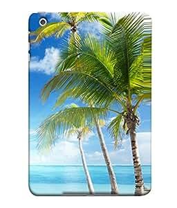 PrintVisa Refreshing Sea 3D Hard Polycarbonate Designer Back Case Cover for Apple iPad Mini Wifi :: Apple iPad Mini Wifi + Cellular (7.9 Inches)