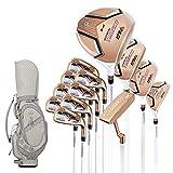 DSLINA Golf Club Pole NSR Rose Gold Pole/Oro Versione Di Titanio Rod/Half Set 5 Pole/Modelli Femminili