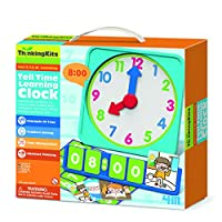 Jardines Online Warehouse Fun little project - No 1 Selling For Girls & Boys Age 4+ Thinking Kits - Tell Time Learning Clock