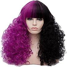 28 Largo lockig Lolita Fashion Harajuku Cosplay Hair Full Wig Peluca ·