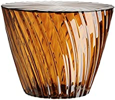 Kartell 8805AM sparkle amber table d'appoint-transparent
