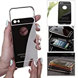 DMG Ultra Luxury Air Aluminum Metal Bumper Detachable + Mirror Hard Back Case for Apple iPhone 5 5S (Gun Metal) Amazon