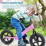 GOTOTO-Bicicletta-Equilibrio-Bambino-Bicicletta-Baby-Walkers-Giocattoli-Walking-Balance-Training-Bicicletta-per-Ragazzi-e-Ragazze-2-3-4-e-5-Anni-di-etSenza-Pedali