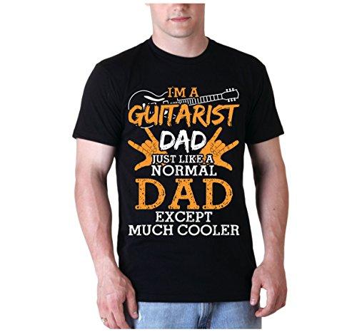 Chitarra papà I' m a Guitarist Dad Chitarra Classica T Camicie Regalo per uomo Black M