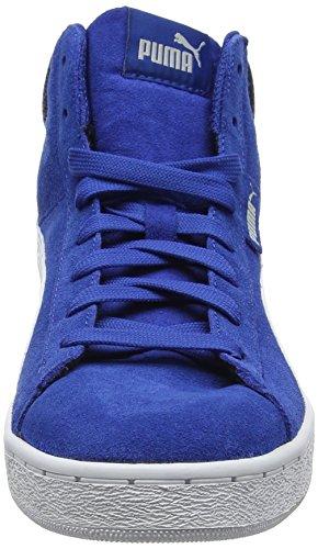 Puma Unisex-Kinder 1948 Mid Jr Low-Top Blau (true blue-puma white 13)