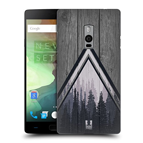 Head Case Designs Pine Trees Nature Wood Prints Ruckseite Hülle für OnePlus 2 / OnePlus Two