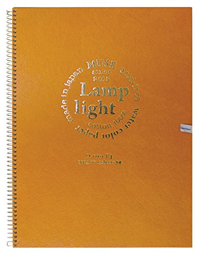 Muse Inlands hochwertigen Aquarellpapier Lampenlicht Skizzenbuch 300g 13 St?ck F4 (Japan Import /...