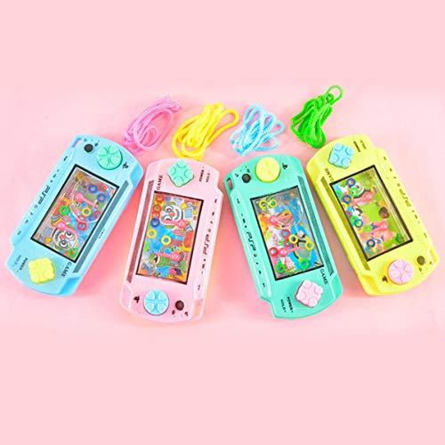 Corneliaa Coltiva Kid Thinking Ability Giocattoli Water Ring Toss Bambino Handheld Game Machine Giochi interattivi Genitore-Figlio