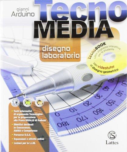 Tecnomedia disegno laboratorio. Con DVD tecnobook. Per la Scuola media
