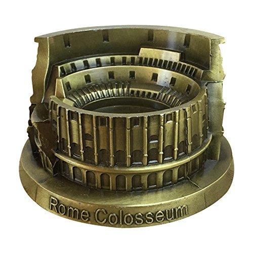 Daptsy rom colosseum Metall Dekoration Aschenbecher realistisch italienischen Stil praktischen Kunstgewerbe