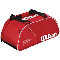 Wilson Federer Borsa rosso/bianco, 77 x 31 x 36 (Viaggio Zaino Wilson)