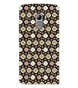 PrintDhaba Pattern D-5285 Back Case Cover for LENOVO VIBE X3 LITE (Multi-Coloured)