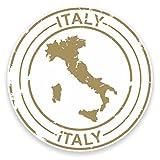 2 x 30cm/300 mm Italie Autocollant de fenêtre en verre Voiture Van Locations #9209