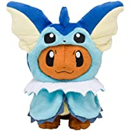 Pokemon Center Original Plush Doll Eevee Poncho Series SW