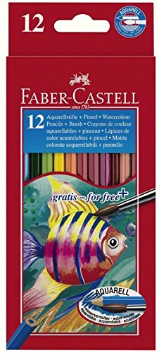 Faber Castell 14448 Crayons d'aquarelle (lot de 48)