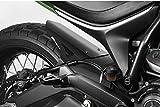 Ducati Scrambler 800 - Kit Kotflügel - Aluminium Heckfender, Rear Mudguard Fender - Einfache Installation - Mattschwarz - Motorradzubehör De Pretto Moto (DPM) - 100% Made in Italy