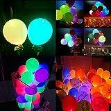 WEISLI LED Luftballons 25pcs Blinkendes Licht Gemischte Farbe Ballon für Halloween die Party Weihnachten Geburtstag Hochzeit Festival by (25pcs)