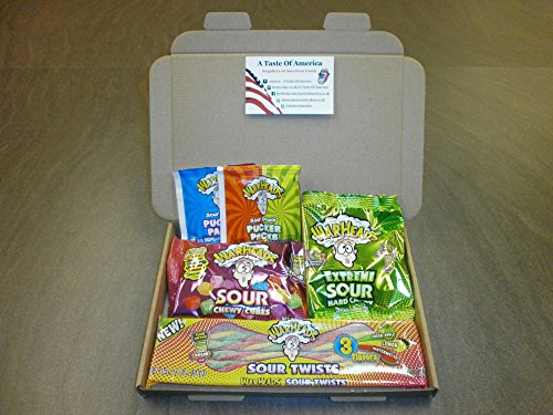 r Candy Gift Box / Gift Set / American Candy Hamper , Warhead's (Warheads Sour Candy)
