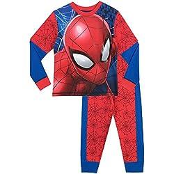 Spiderman Pijama para Niños Spider-Man Multicolore 6 - 7 Años