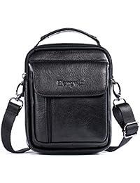 Borse in Pelle Uomo Top-handle Custodia Marsupio Bag Small Messenger Bag Mobile Phone Holster con maniglia / tracolla