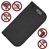 Premium RFID Strahlenschutz Tasche für Keyless GO Autoschlüssel - Finest Folia Kreditkarte Handy Diebstahlschutz Abhören Ortung GPS Stop