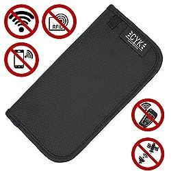 Premium RFID Strahlenschutz Tasche für Keyless GO Autoschlüssel - Finest Folia Kreditkarte Handy Diebstahlschutz Abhören Ortung GPS Stop Funkschlüssel Schutz