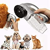 Plastic Cat Dog Pet Hair Fur Remover Shed Grooming Brush Comb Vacuum Cleaner
