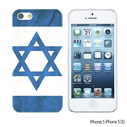 OBiDi - Flag Pattern Hard Back Case / Housse pour Apple iPhone SE / Apple iPhone 5S / 5 - Germany Israel