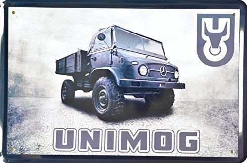 Blechschild Unimog 20x30cm Reklame Retro Blech Metal Sign XVIER31