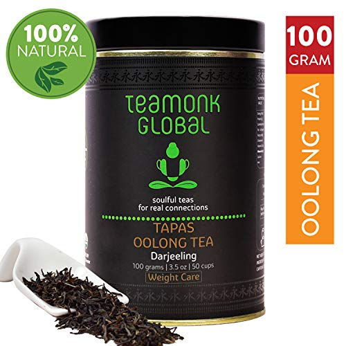 Teamonk Darjeeling Oolong Tea para bajar de peso