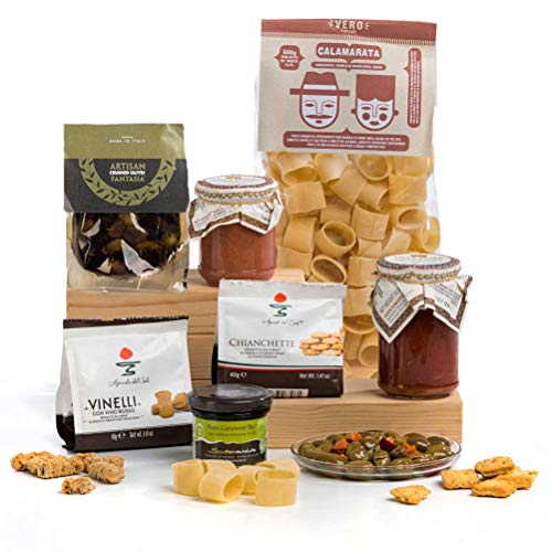 Ciao Ciao! Italian Mother's Day Pasta & Sicilian Sauces Food Hamper Gift Box