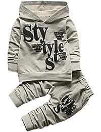 Sisit Hoodie Confortable et épais + Pantalon de Jogging pour Les bébés et  Les Enfants DE 0-5 Ans. 2 peices de… dab60b65491