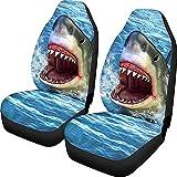 Sea Animal Shark Funda para asiento de automóvil Asientos Protector de asiento Cojines de asiento automáticos para automóvil, SUV, camión o camioneta