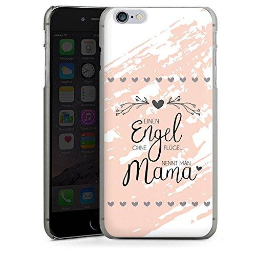 Apple iPhone 4s Hülle Case Handyhülle Muttertag Spruch Mama Hard Case anthrazit-klar