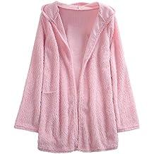 Btruely Herren Chaqueta Suéter Abrigo Jersey Mujer, Abrigo de suéter de Manga Larga de Manga