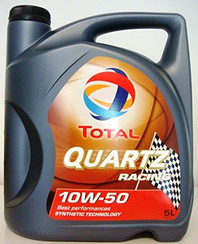 Total Quartz Racing Huile moteur 10W-50, 5litres pas cher