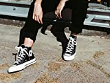Converse Taylor Chuck 70 Hi, Scarpe da Ginnastica Basse Unisex-Bambini, Nero Black/Egret 001, 36.5 EU