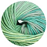 100 gr. Montego Color Fb. 205 grün mel., m. Merino, Linie 55, Brandneu, Online, Herbst/Winter 2013/14
