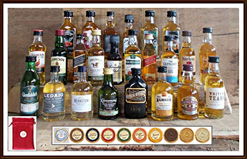 Adventskalender 24 Whisky Miniaturen