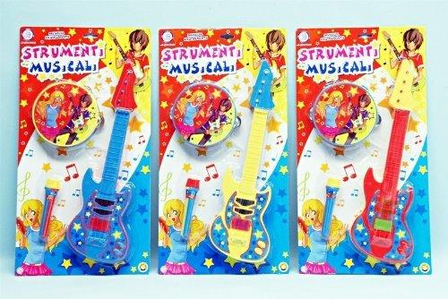 Globo Toys 90015,1cm W 'Toy Instruments de Musique (3Pièces)