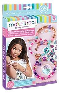Make It Real - Deslumbrantes pulseras de amuletos, Creatividad floral (1202) , Modelos/colores Surtidos, 1 Unidad