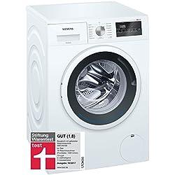 Siemens iQ300 WM14N140 Waschmaschine / 6,00 kg / A+++ / 137 kWh / 1.400 U/min / Schnellwaschprogramm / Nachlegefunktion / aquaStop /