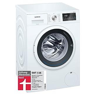 Siemens-iQ300-WM14N140-Waschmaschine-600-kg-A-137-kWh-1400-Umin-Schnellwaschprogramm-Nachlegefunktion-aquaStop-mit-lebenslanger-Garantie