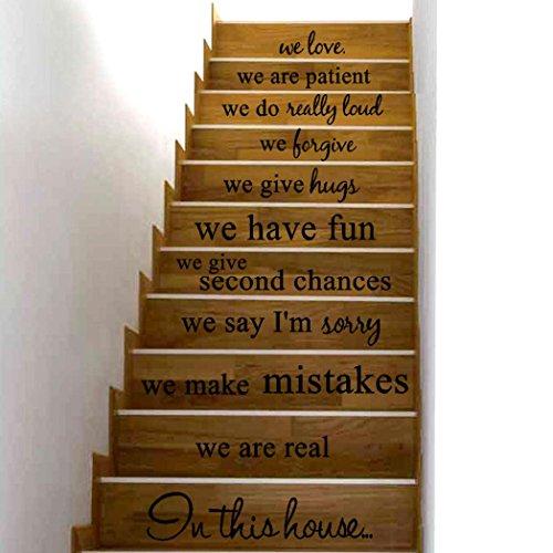 ❤️Pegatinas pared❤️Dragon868 En esta escalera