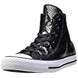 Converse 555966C CT AS Metallic Scaled Leather Hi Sneaker Schwarz 35