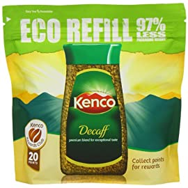 Kenco Decaffeinated Instant Coffee Eco Refill 150 g (Pack of 6)