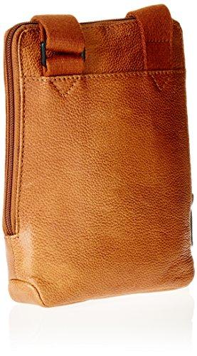 Piquadro Ca3084p15s, sac bandoulière Marrone (Cuoio Tabacco)