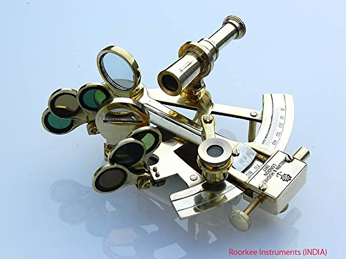 Massivem Messing Sextant Kelvin Hughes London - Seedekor - Astrolabe (Stück Gespräch Sammlung)